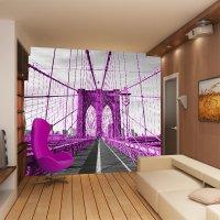 Violet bridge 3D